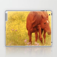Wild as the Flowers Laptop & iPad Skin