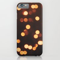 iPhone & iPod Case featuring Christmas Lights II by filiskun