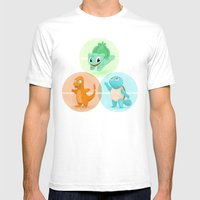 Poké: Choose Your Start… Mens Fitted Tee White SMALL