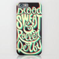 Blood Sweat & Roller Der… iPhone 6 Slim Case