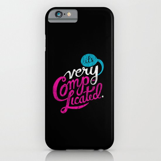 It's Very Complicated iPhone & iPod Case