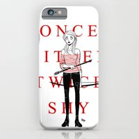 Once Bitten Twice Shy iPhone 6 Slim Case