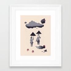 lakitu Framed Art Print