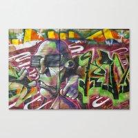 Bristol Graffiti 02 Canvas Print