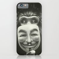 movie iPhone & iPod Cases featuring Anonymous by Dr. Lukas Brezak