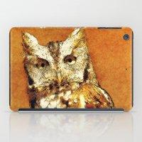 How Now Brown Owl iPad Case