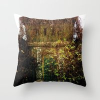 Nature Finds The Way Ins… Throw Pillow
