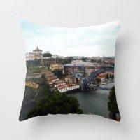 Porto - Portugal Throw Pillow