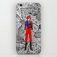 Bowie Fashion 4 iPhone & iPod Skin