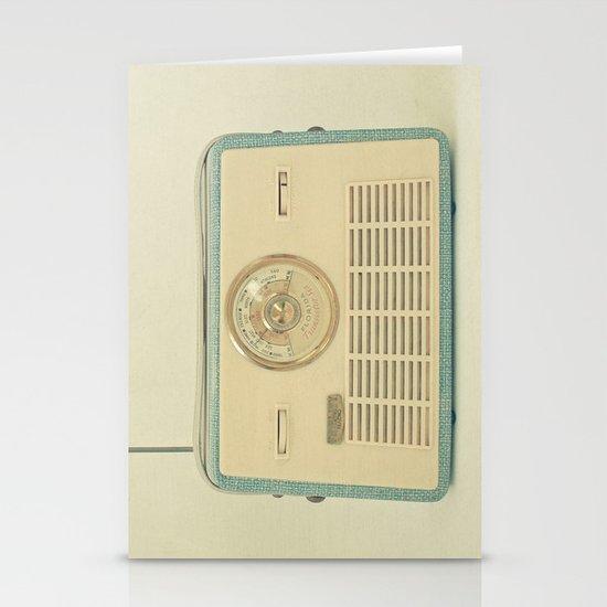 Radio Days Stationery Card