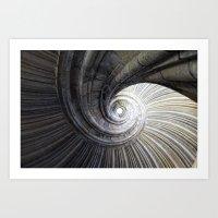 Sand Stone Spiral Stairc… Art Print