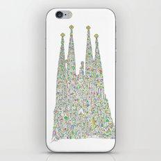 Sagrada Família iPhone & iPod Skin