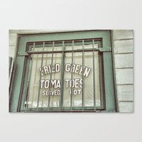 Fried Green Tomatoes  Canvas Print