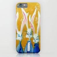 rabbit family iPhone 6 Slim Case