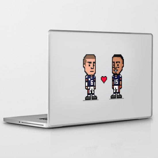 8-Bit: Bromance Laptop & iPad Skin