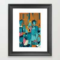 Rear Window Framed Art Print