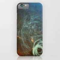 iPhone & iPod Case featuring Untanglement - fresh air by Guillermo de Llera