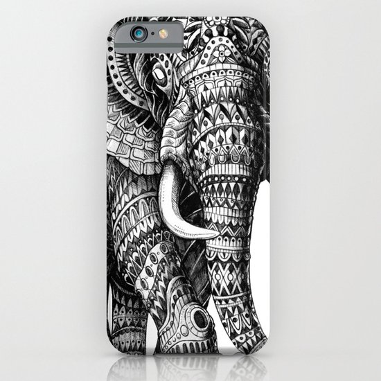 Ornate Elephant v.2 iPhone & iPod Case