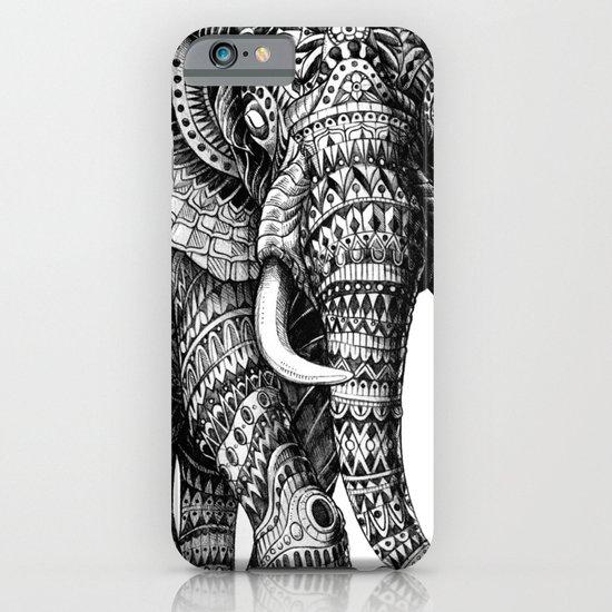 Ornate Elephant v.2 iPhone & iPod Case