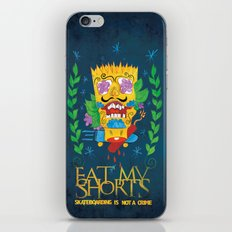 EAT MY SHORTS iPhone & iPod Skin