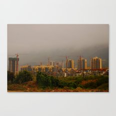 under construction Canvas Print
