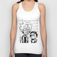 Rick And Morty Unisex Tank Top