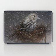 Keeping Warm In My Nest iPad Case