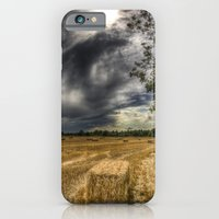 iPhone & iPod Case featuring Storm over the Farm by David Pyatt