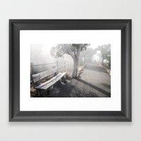 Mists Before The Trail O… Framed Art Print