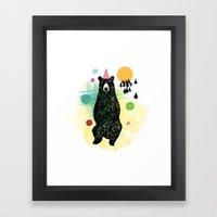 Bear Scape Framed Art Print