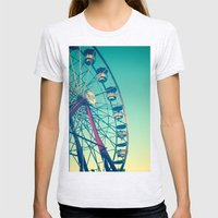 In the Sky Womens Fitted Tee Ash Grey SMALL