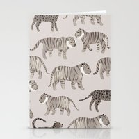 Gray Tigers Stationery Cards
