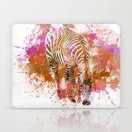Crazy Zebra II Laptop & iPad Skin