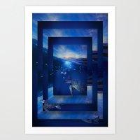 Swim the Seas Art Print