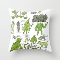 swswswswsw Throw Pillow