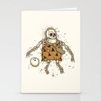 Mysterious fossil Stationery Cards