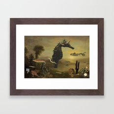 El Mar Invisible Framed Art Print