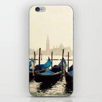 Gondolas in Color iPhone & iPod Skin