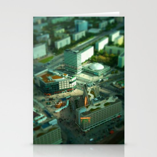 Mini Berlin I Stationery Card