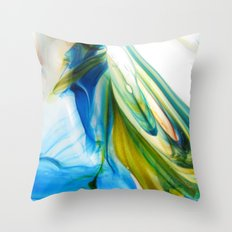 symphysis  Throw Pillow