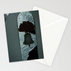 Bell over Santorini Stationery Cards