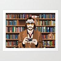 Richie Tenenbaum Art Print