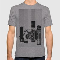 Perception Mens Fitted Tee Athletic Grey SMALL