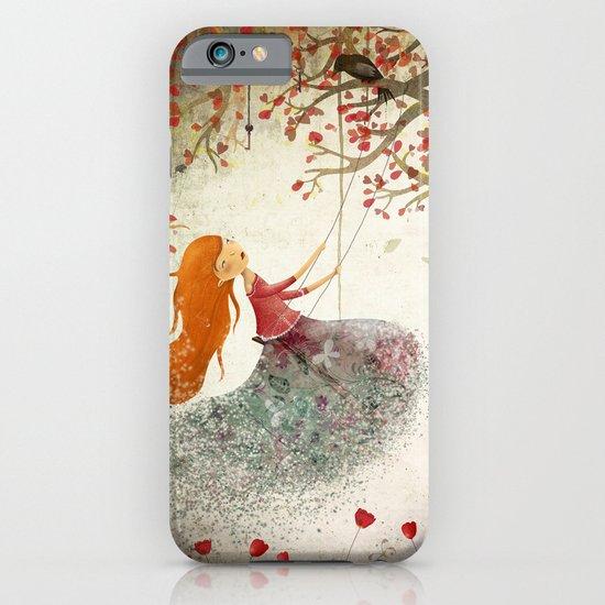 Swinging girl iPhone & iPod Case
