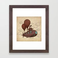 The Fantastic Voyage Framed Art Print