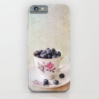 iPhone & iPod Case featuring Scratched Blueberries by secretgardenphotography [Nicola]