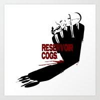 Reservoir Cogs Art Print
