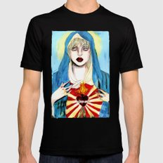 Goddess courtney love SMALL Black Mens Fitted Tee