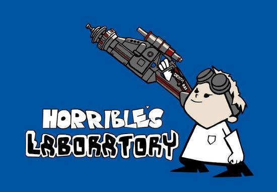 Horrible's Laboratory Canvas Print