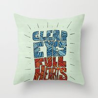 Clear Eyes, Full Hearts.… Throw Pillow
